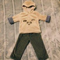 Conjunto Inverno Cachorrinho - 6 a 9 meses - Baby Club