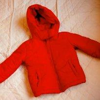 Jaqueta Inverno Vermelha - Menina - 12 a 18 meses - Póim