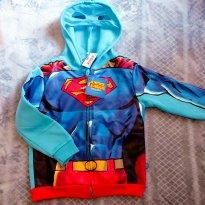 Jaqueta Superman - 3 anos - Justice League