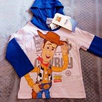 Camiseta Woody Toy Story - 2 anos - Disney e Fakini