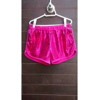 KYLY - Short Pink em Paetês - 6 anos - Kyly