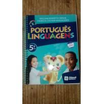 """Livro Didático """"Português - Linguagens"""" para o 5. Ano - Sem faixa etaria - Atual Editora"""