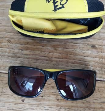 a78fa94d3 TIGOR T. TIGRE - Óculos de Sol com Case no Ficou Pequeno - Desapegos ...