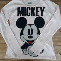 DISNEY  - Manga Longa Mickey - 10 anos - Renner