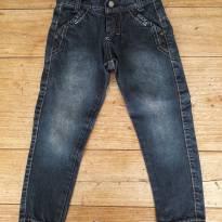 Jeans Corte Moderno! - 4 anos - Nacional