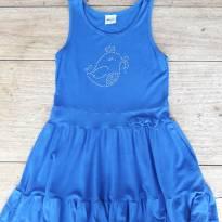 ELIAN  -  Vestido Azul Passarinho! - 4 anos - Elian