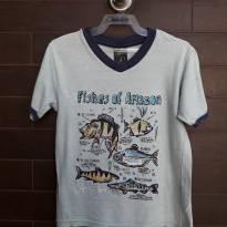 TIGOR T. TIGRE - Camiseta Bordada - 4 anos - Tigor T.  Tigre