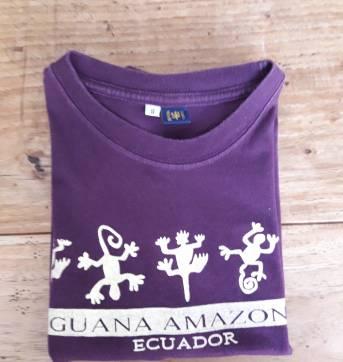 Camiseta Amazônia Equador - 6 anos - Não informada