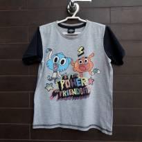 RENNER - Camiseta Gumball - 6 anos - Renner