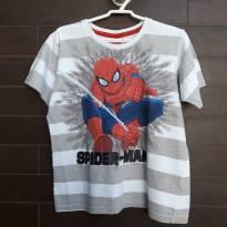 SPIDERMAN - Camiseta Homem Aranha - 6 anos - Spider Man