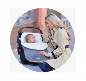 Cobertor forro bebê conforto - Sem faixa etaria - Eddie Bauer