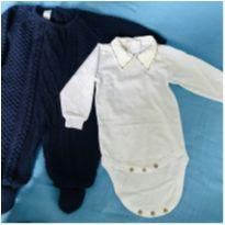 Saída de maternidade menino - Recém Nascido - Artesanal