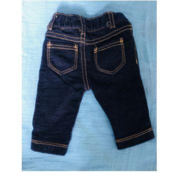 Calca imita jeans Rn carters - Recém Nascido - Carter`s