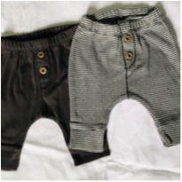 Kit 2 calças de elástico RN carters - Recém Nascido - Carter`s