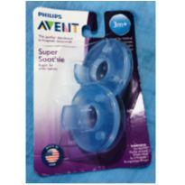 Chupeta Philips Avent Super Soothie 3m+ Original -  - Avent Philips