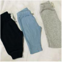 Kit 3 calças carters - 0 a 3 meses - Carter`s