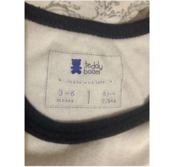 Body baby boy - 3-6 meses - 3 a 6 meses - Teddy Boom