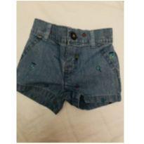 Shorts jeans menino carters 3 meses - 3 meses - Carter`s