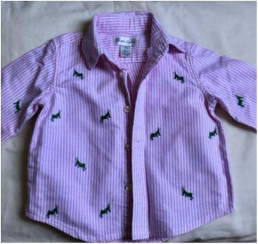 Camisa Ralph Lauren - 6 meses - 6 meses - Ralph Lauren