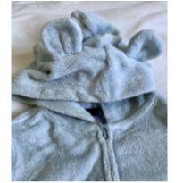 Conjunto calça e casaco atoalhado - urso - 6 meses - 6 meses - Carter`s