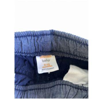 Calça menino azul marinho - 6 a 9 meses - Gymboree