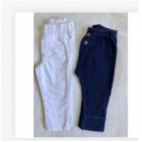 Kit 2 calças carters - 6 meses - 6 meses - Carter`s