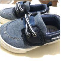 Sapatênis  azul carters - 20 - Carter`s