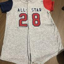 "Romper ""all star"" - carters - 6 meses - 6 meses - Carter`s"