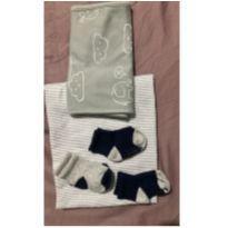 Kit carters RN (manta + meias + pano de ombro) -  - Carter`s
