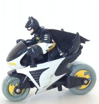 Batman com moto Imaginext - Sem faixa etaria - Imaginext