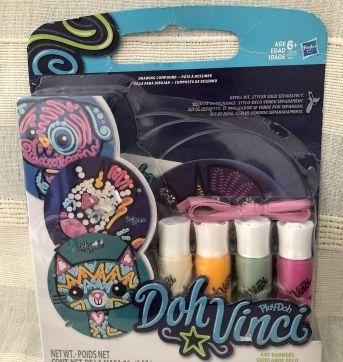 Doh Vinci Art Banners Play-Doh - Sem faixa etaria - Hasbro