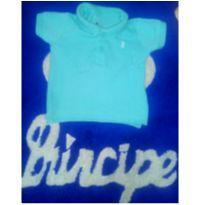 Camiseta Infantil Gola Polo - 3 a 6 meses - Teddy Boom