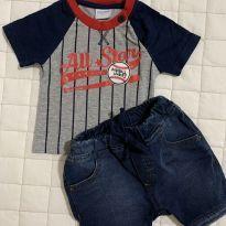 Conjunto Esporte P - 3 meses - yoyo Baby