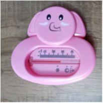 Termômetro de banheira Rosa Elefanta -  - Não informada