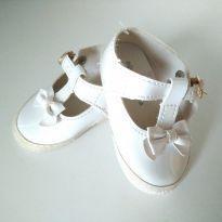 Sapato de lacinho branco - 15 - Pimpolho
