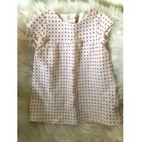 vestido de poá vermelhinhas - 3 anos - Zara Baby