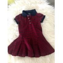vestido polo ralph lauren,com listras - 3 anos - Polo e Ralph Lauren