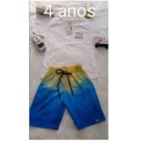 Conjuntinhos  Verão - 4 anos - elian e ideal textil