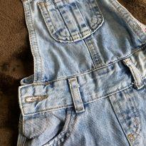 Jardineira jeans - 18 a 24 meses - Renner