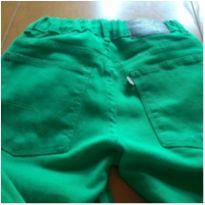 calça brim verde - 9 anos - VRK Baby