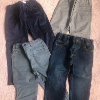 Calças Super Estilosas - 3 anos - Carter`s e Old Navy