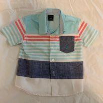 Camisa Náutica - 9 a 12 meses - Nautica
