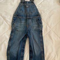 Jardineira Jeans - 18 a 24 meses - OshKosh e Oshkosh B´gosh e Ampelman