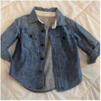 Camisa Jeans GAP - 12 a 18 meses - GAP e Baby Gap