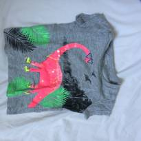camiseta feminina carter`s estampada 6 meses - 6 meses - Carter`s
