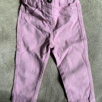 calça jeans com ajuste de cintura com elástico, tamanho 12 meses - 1 ano - Kiabi