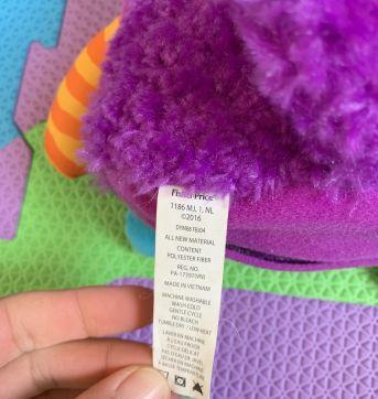 Fisher Price Monster Plush - Mattel - Sem faixa etaria - Fisher Price