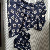 vestido florido com calcinha tamanha 2 - 2 anos - Sem marca