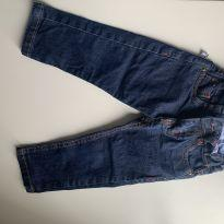 calça jeans masculina tamanho 1 - 1 ano - Sem marca