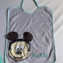 babador de tecido mickey disney baby. -  - Disney baby